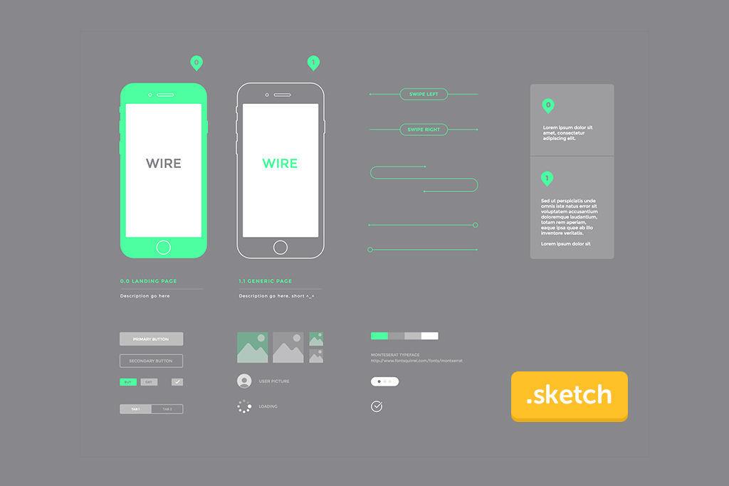 【Sketch無料リソースの2019年決定版!】Sketch用UIキット、ワイヤーフレームキット55選【Sketchユーザーダウンロード必須!】