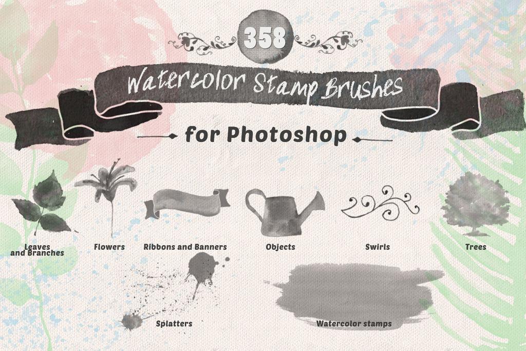 【2021年最新&水彩ブラシ決定版】無料で使えて便利!オススメのPhotoshop水彩画風ブラシ40選【フリー素材】