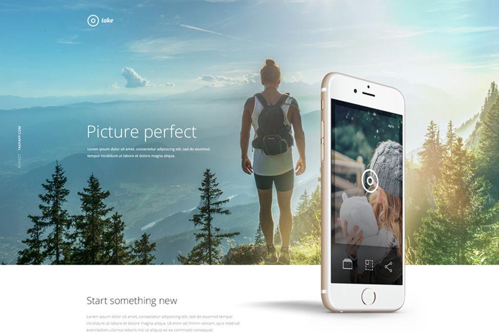 ビジネス用サイト、ポートフォリオ、その他何にでも応用可能なPSDのWEBサイトテンプレート16選【Photoshop】