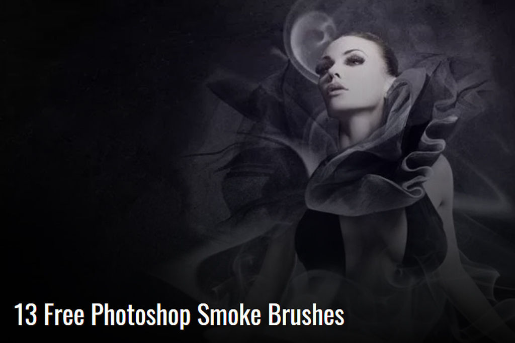 High utilization!68 kinds of photoshop brushes that can easily create a techcha that was made of smoke, steam, clouds, etc. [free of charge]