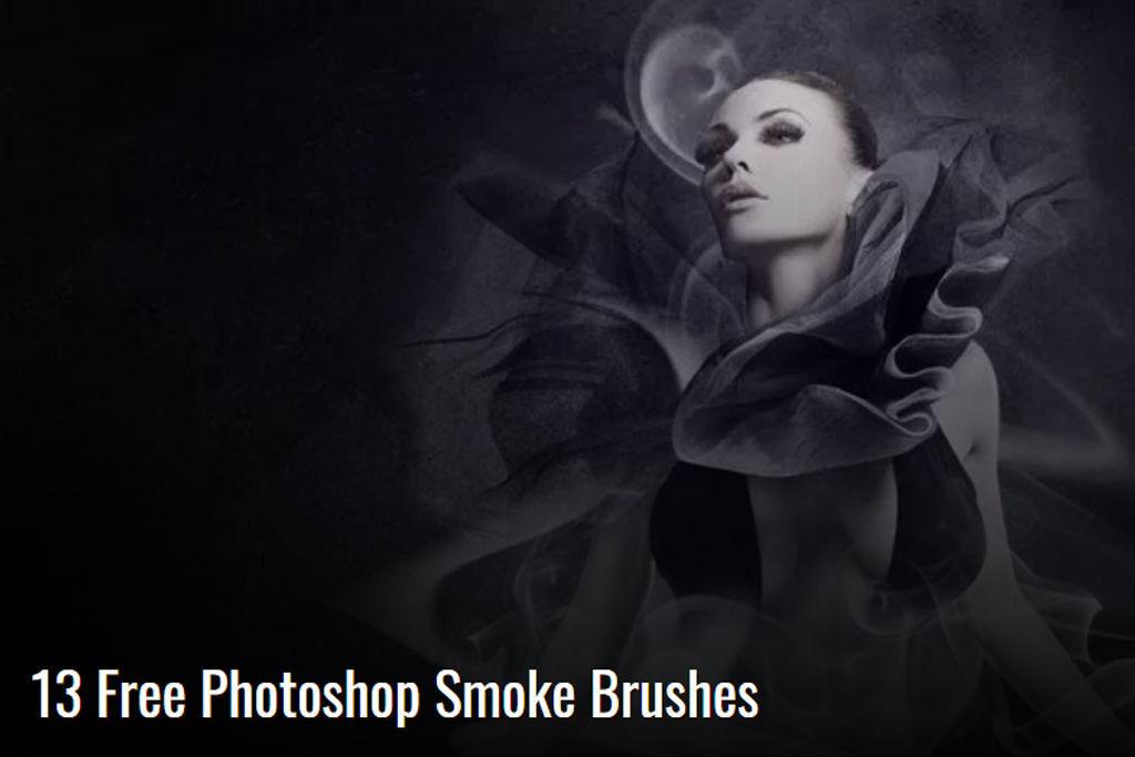 使用率高め!煙や湯気、雲などもくもくしたテクチャを簡単に作成出来るPhotoshop用ブラシ68種【無料/フリー】
