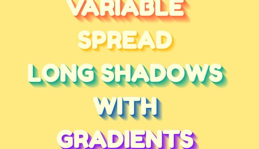 I can make it with CSS!16 text shadow effects like logos [Drop Shadow]