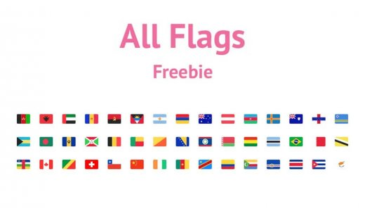 "Free & commercialVector illustration image data of the national flag of all countries in the whole world.It can be used at the Tokyo Olympics!【Free Image,""Sketch,ai】"