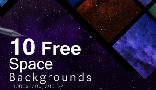 【Free】Cool10 different universes (galaxy, space) background texture material!