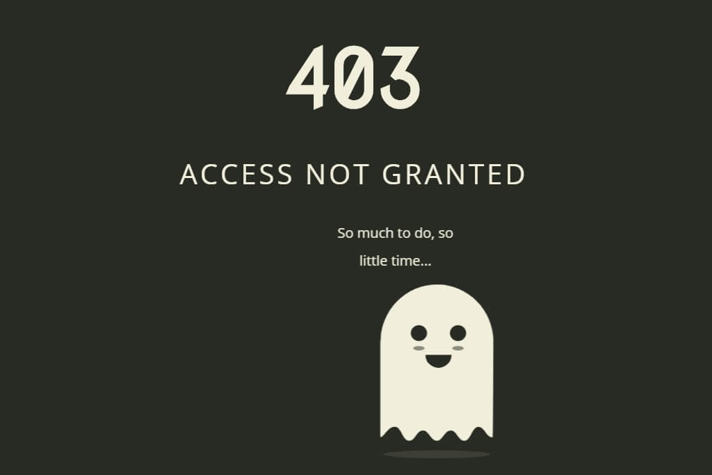 CSSで作る!面白い403エラー・404エラーページデザイン集 | WebDesignFacts