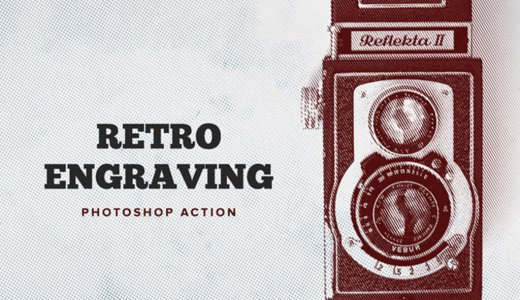 【Free】In the photograph like taking a picture with a retro camera with one buttonNostalgic Photoshop Action