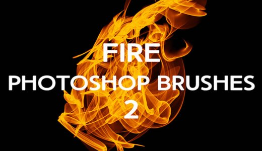 【Free】Easy expression of fire and fire133 kinds of flame and fire effect brushes that can be used in Photoshop [2019 edition / free material]