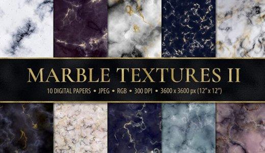 【無料/商用可】10種大理石風マーブル模様のテクスチャ素材【背景などにオススメ/jpg】